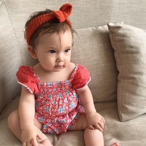 Other - Baby bow headbands handmade crochet style